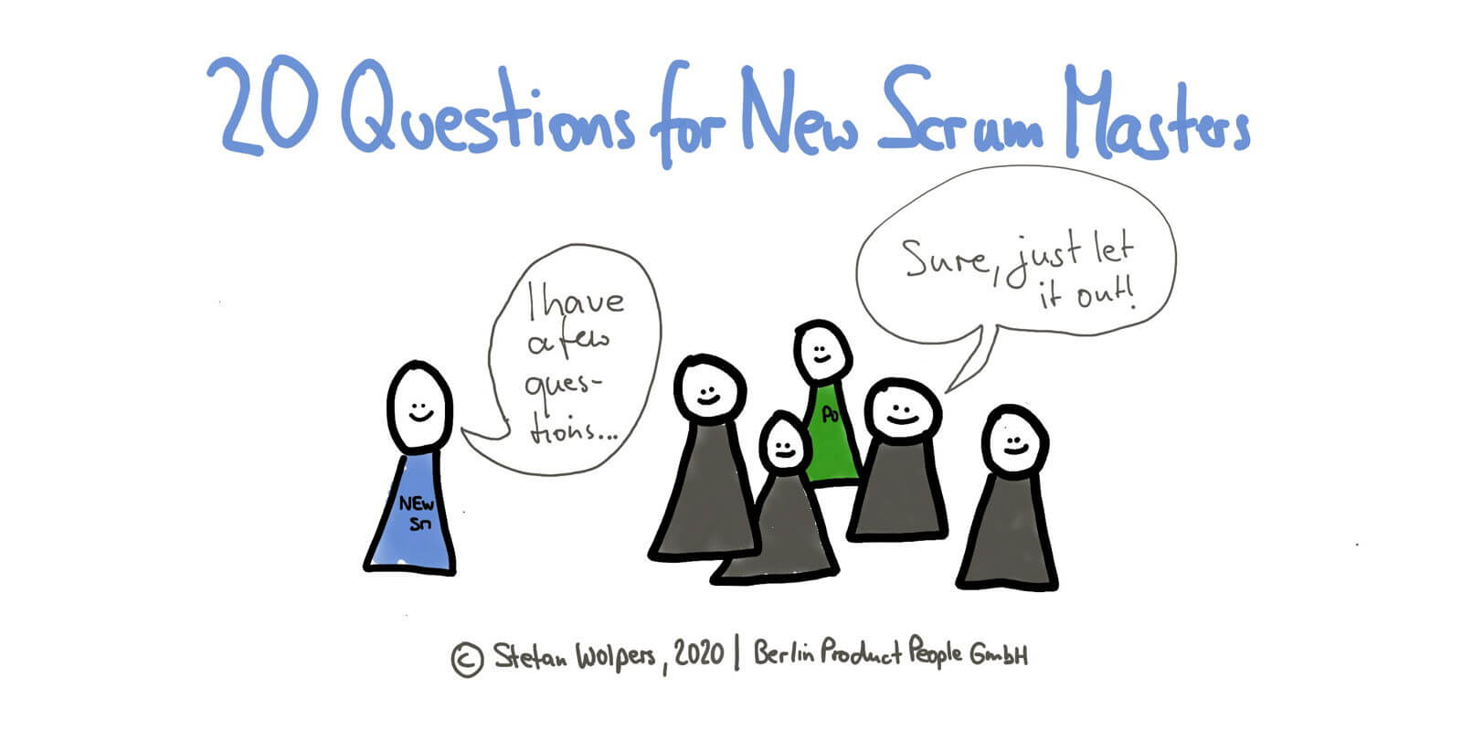 20 Questions New Scrum Masters Should Ask Their Teams to Get up to Speed — Age-of-Product.com