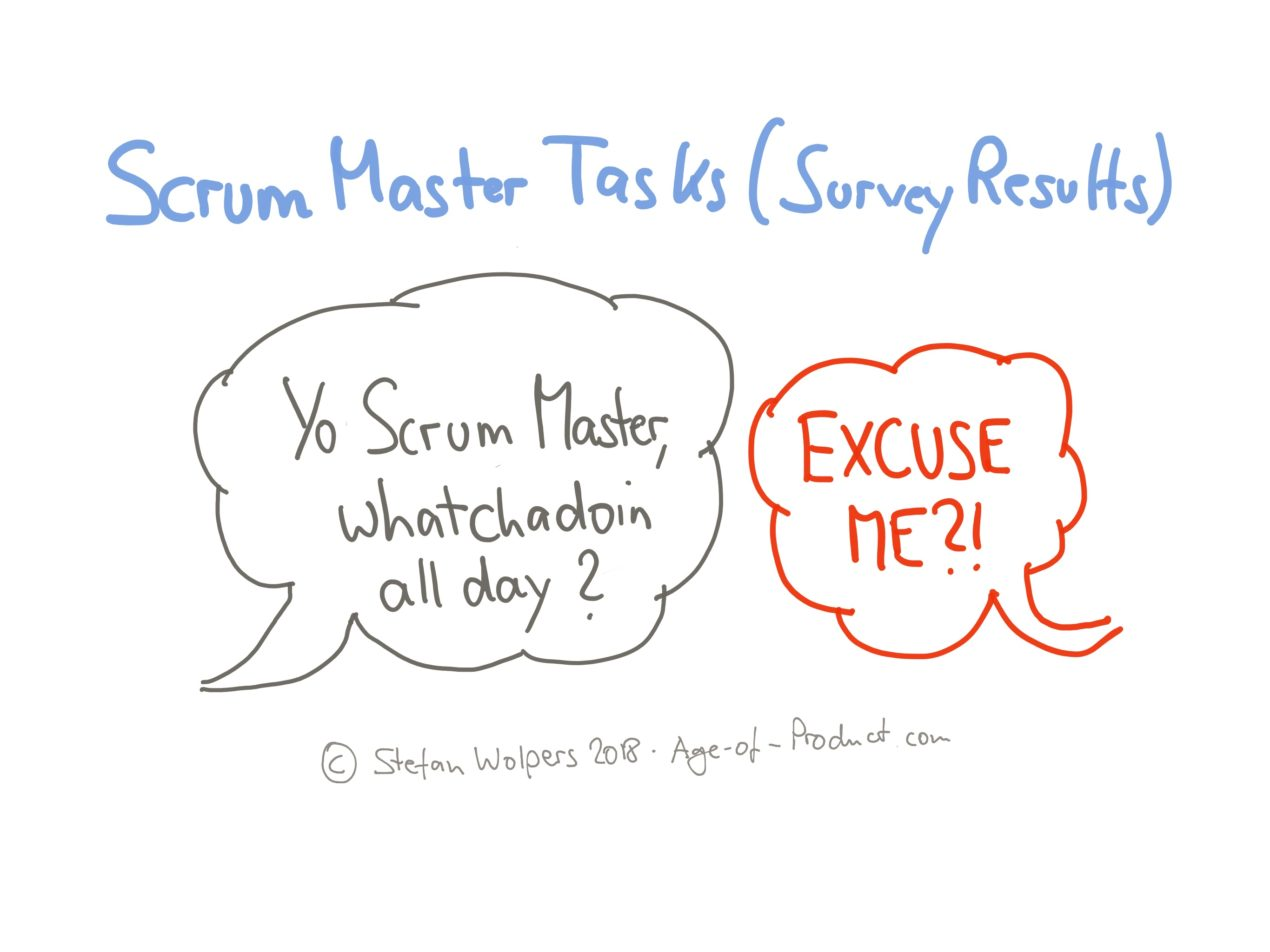 Scrum Master Duties, Serving a Single Team (Survey Results) — Age of Product